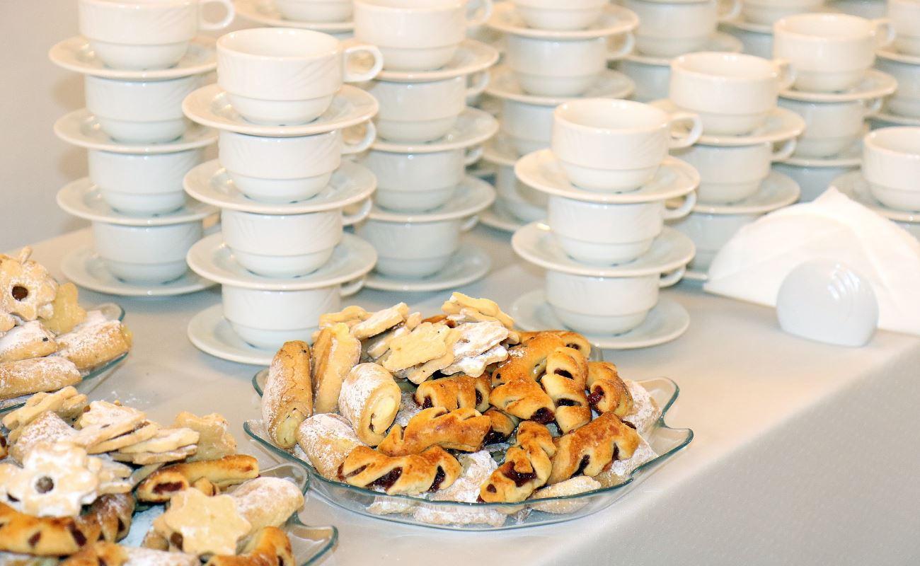 Welcome Coffee e Coffee Break - La Rocca Banchetti