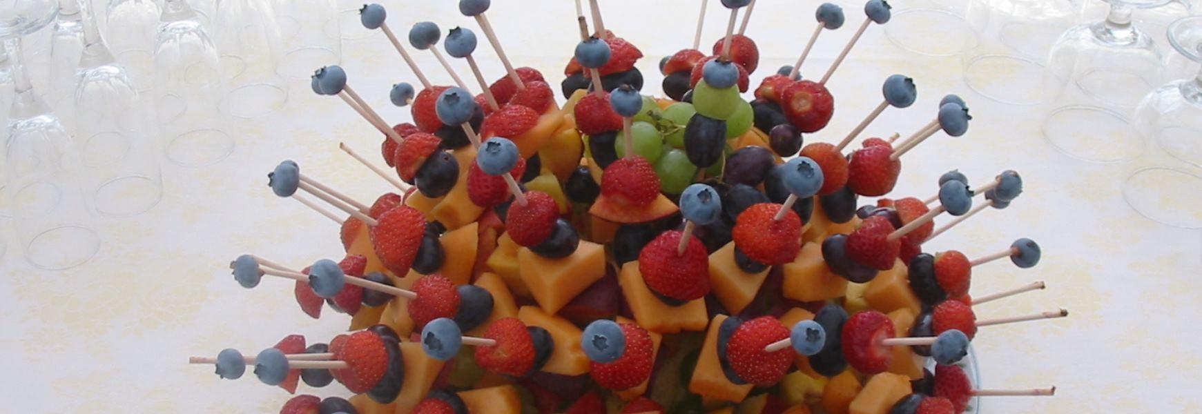 Buffet di Frutta La Rocca Banchetti